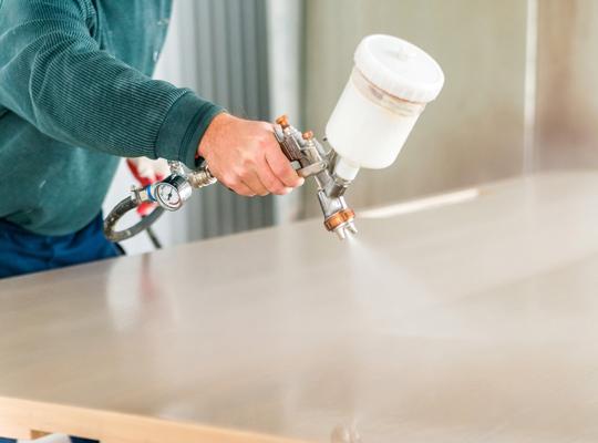 Industrial paint coatings