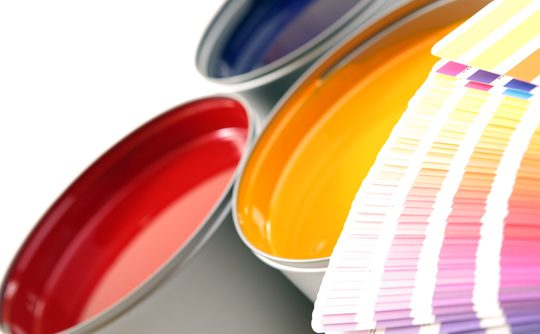 Industrial paint coatings - on-site facilities